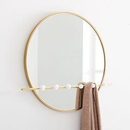 Moon Hook Wall Mirror