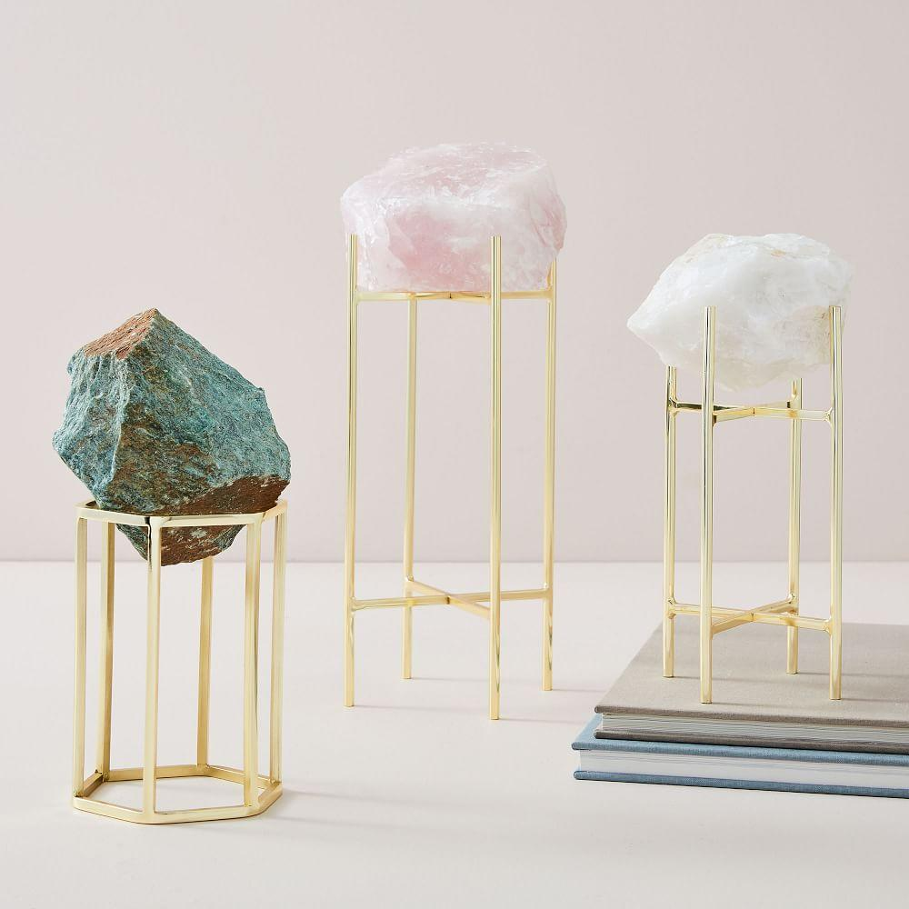 Natural Stone on Stand Objects