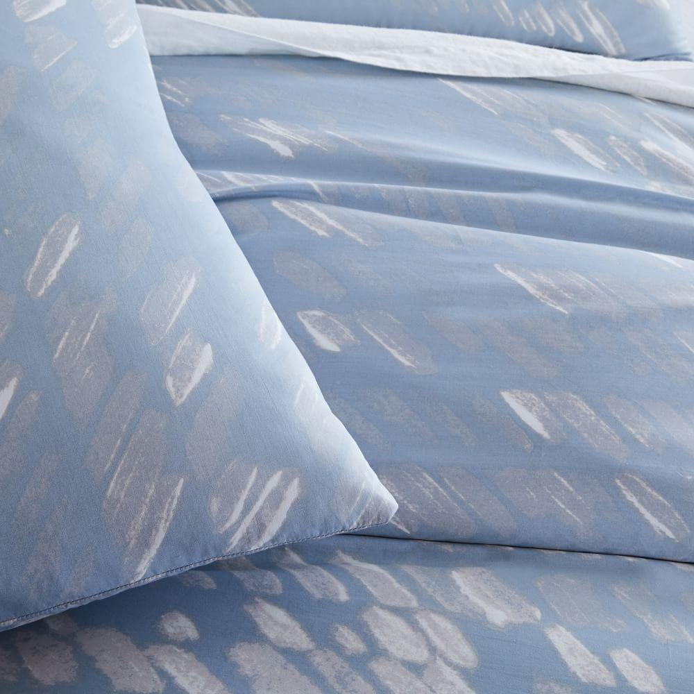 Organic Sateen Slanted Dots Quilt Cover + Pillowcases