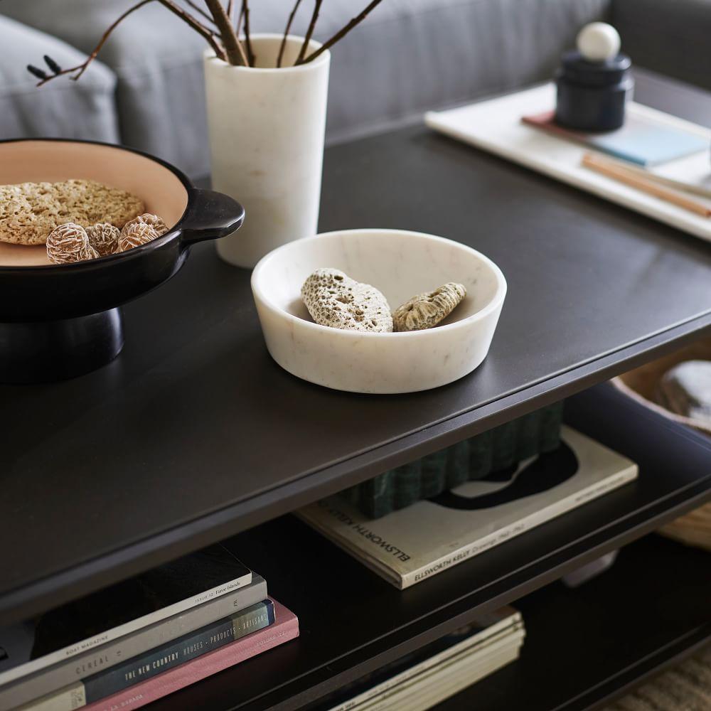 Profile Coffee Table - Antique Bronze