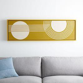 Radiant Shapes Wall Art