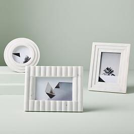 Textured Marble Frames