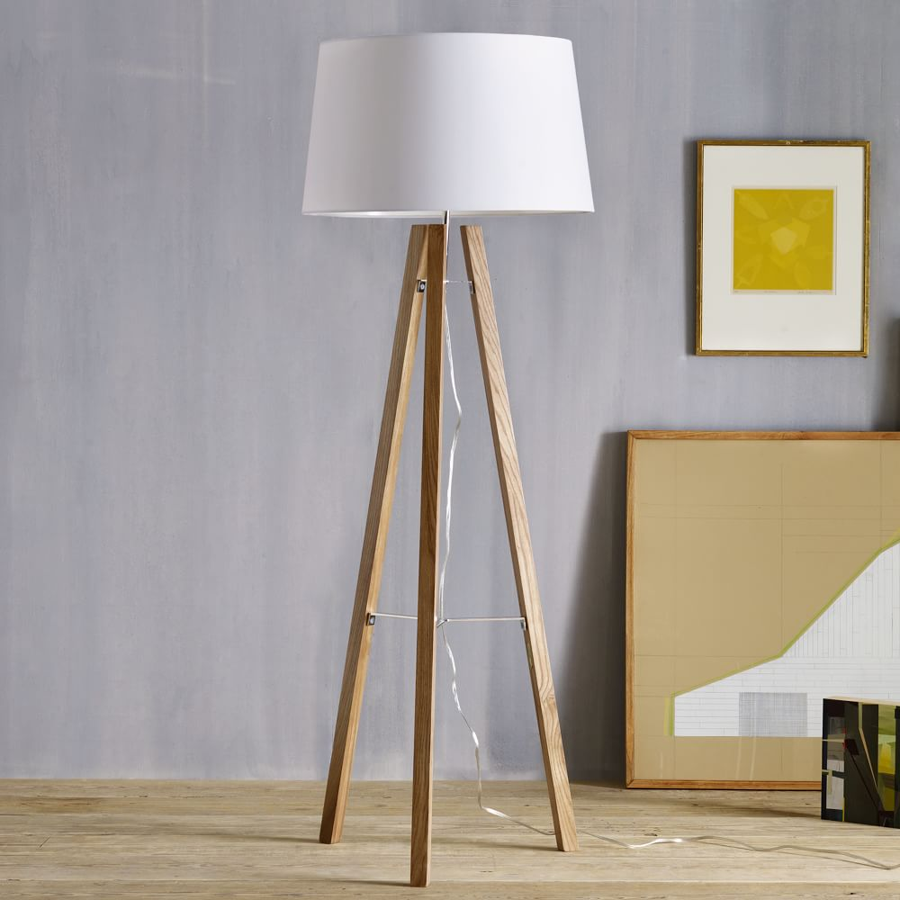 wood us zach ideas floor espan brilliant tripod pinterest lamp