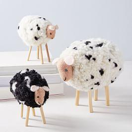 Felt Sheep Object