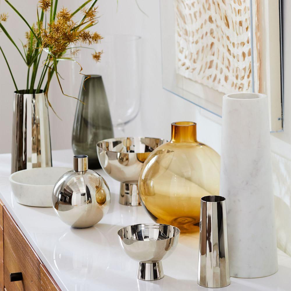 Foundations Nickel Vases