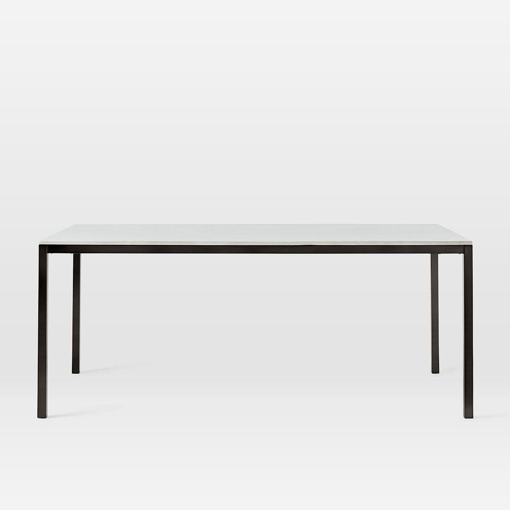 Frame Dining Table - Marble/Antique Bronze