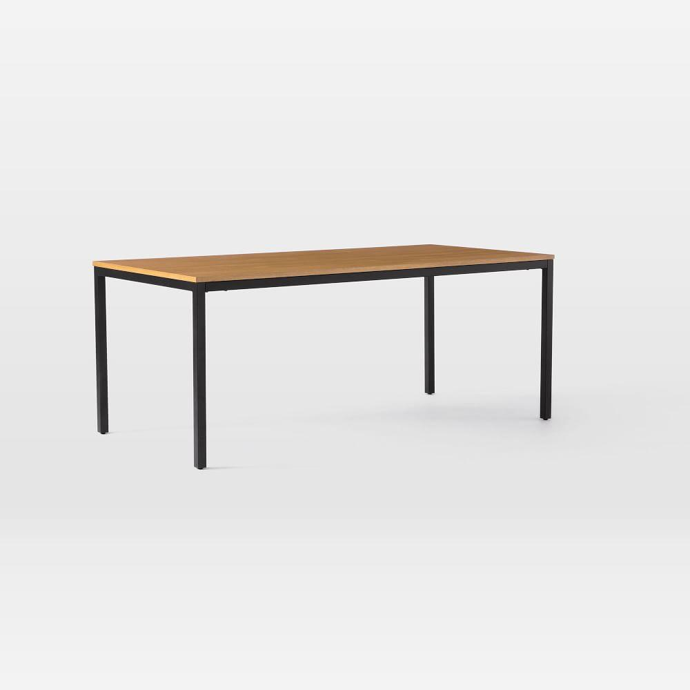 Frame Dining Table - Caramel/Antique Bronze
