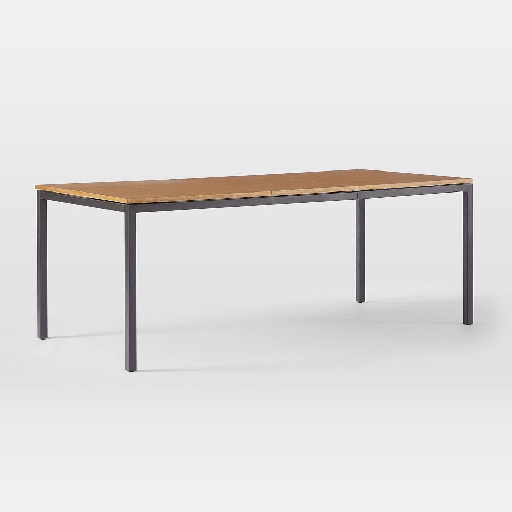 Frame Expandable Dining Table - Caramel/Antique Bronze