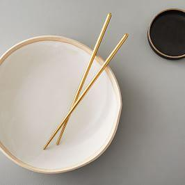 Gold Chopsticks (Set of 5)