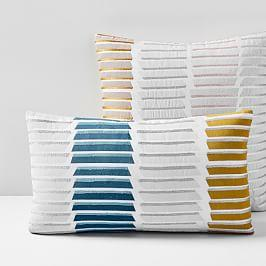 Stacked Lines Cushion Cover