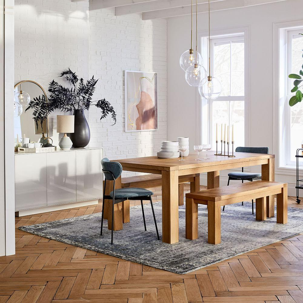 Tahoe Solid Wood Dining Table - Natural Oak