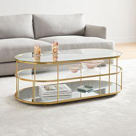 Terrace Pill Coffee Table