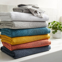 25% Off All Bath Towels + Mats