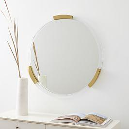 Brass + Lucite Collection - Circle