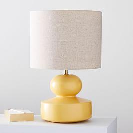 Modern Totem Table Lamps - Lemon Drop (47 cm)