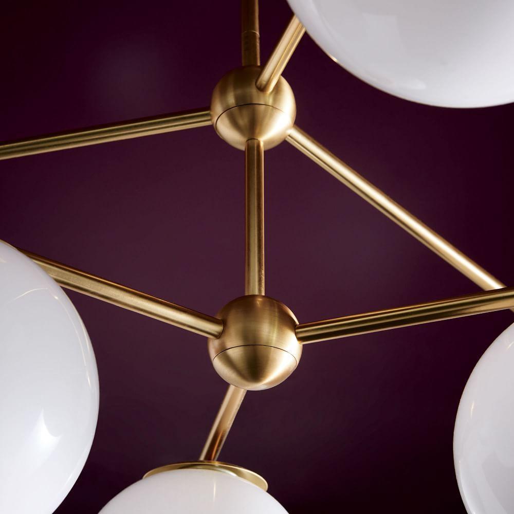 Sphere + Stem Chandelier