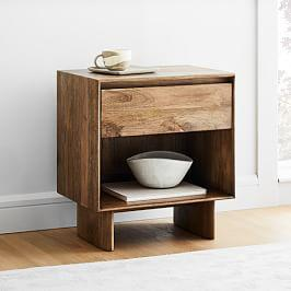 Anton Solid Wood Bedside Table