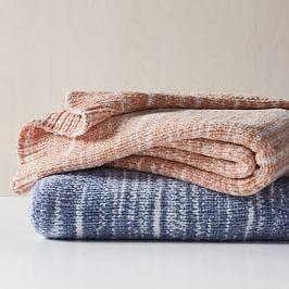 Marled Luxe Chenille Throw