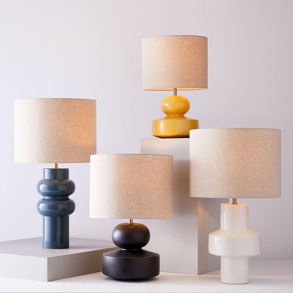 Modern Totem Table Lamps - Lemon Drop (47 cm)