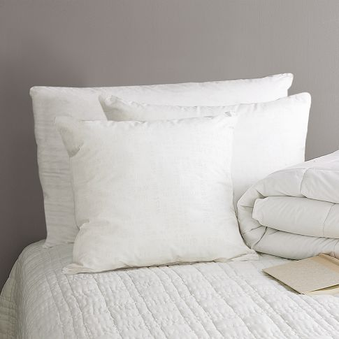 Natural Down + Down-Alternative Pillows