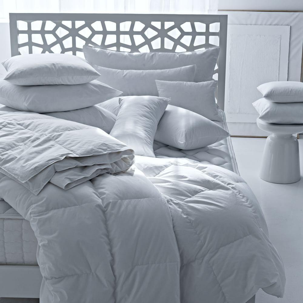 Natural Down + Down-Alternative Pillows