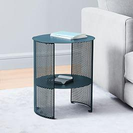 Perforated Metal Side Table