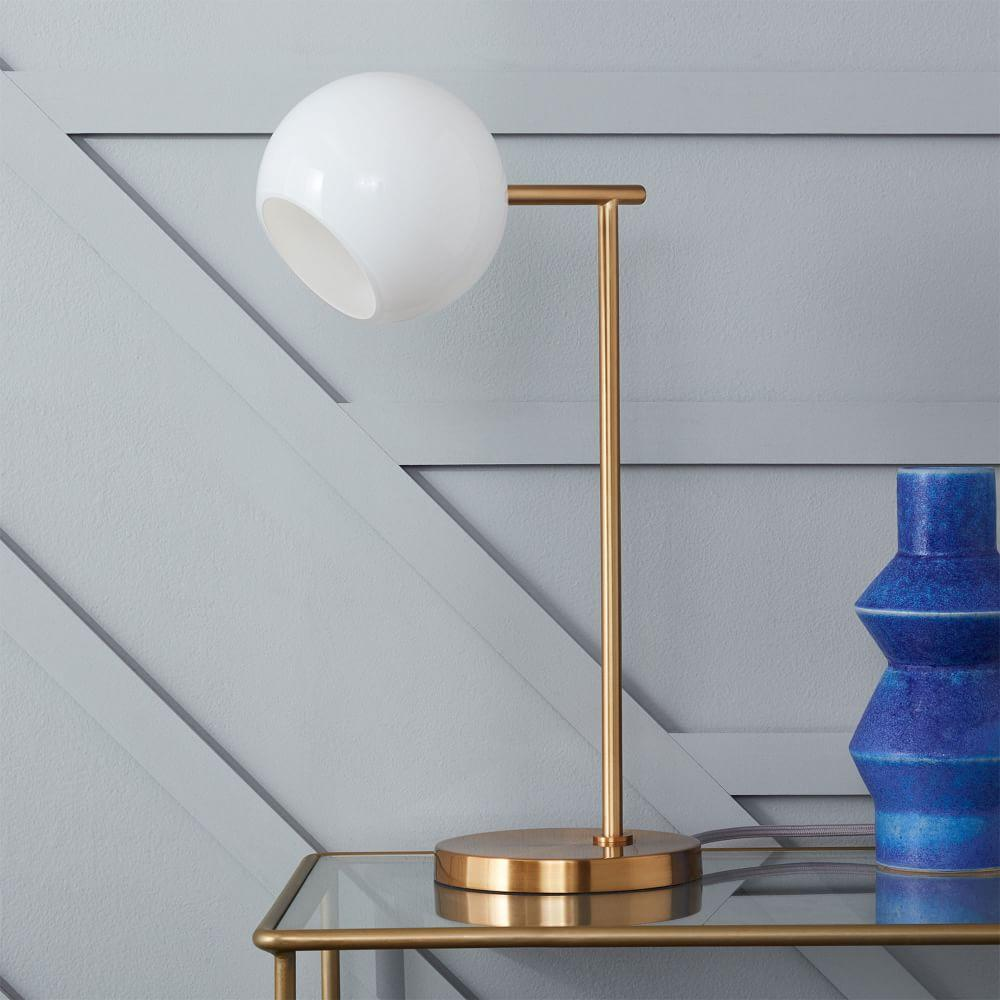 Staggered Glass Table Lamp