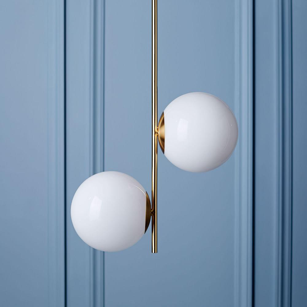 Sphere + Stem Pendant