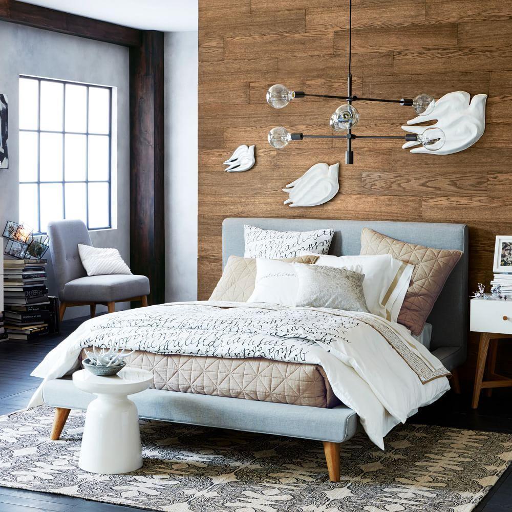 Mod Upholstered Bed West Elm Au