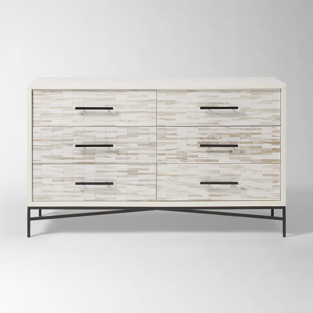 Amazing photo of Furniture / Dressers / Wood Tiled 6 Drawer Dresser with #736758 color and 1200x1200 pixels