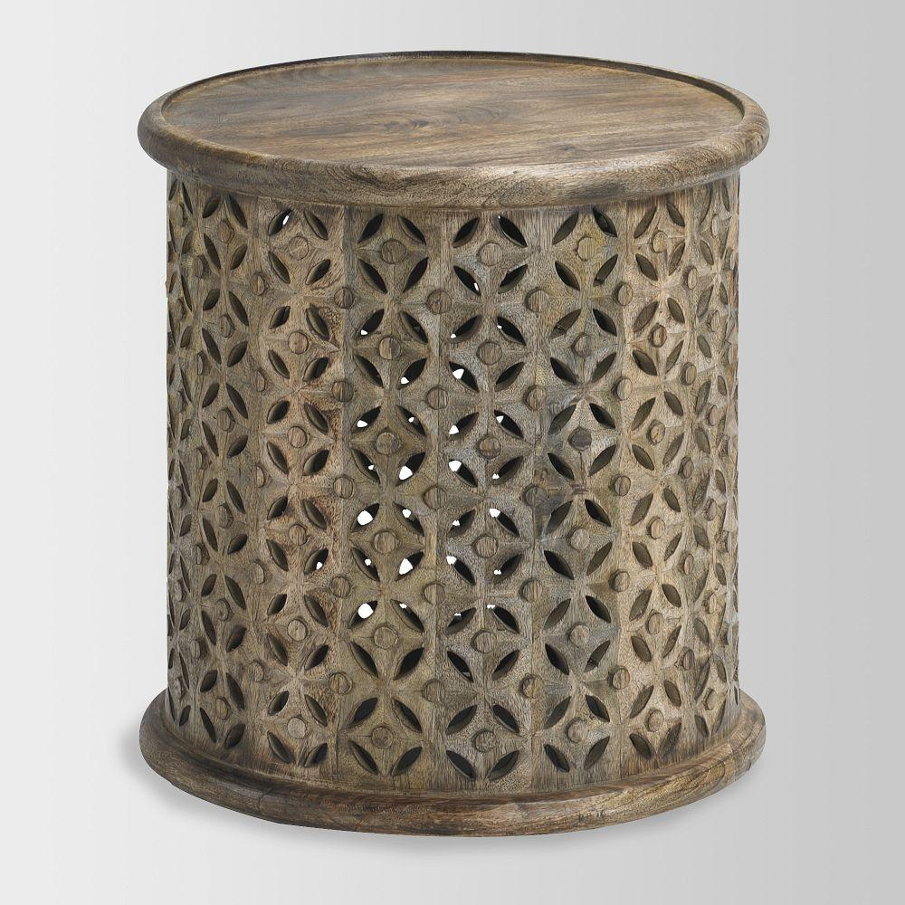 Carved Wood Side Table West Elm Australia - West elm carved wood side table