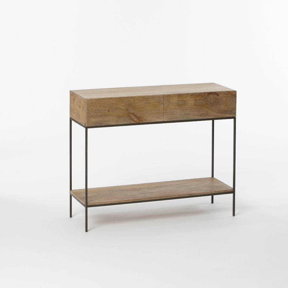 Industrial storage console west elm au industrial storage console geotapseo Gallery