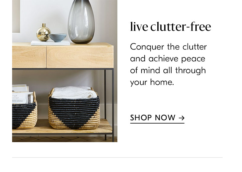 live clutter free