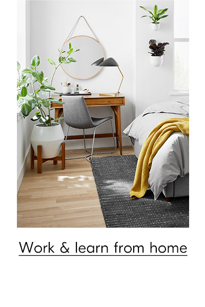 work & learn from home