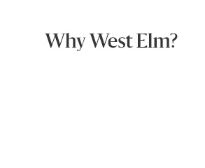 why west elm