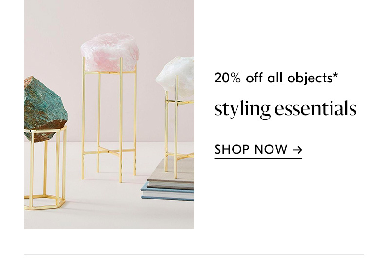 20% off all objects
