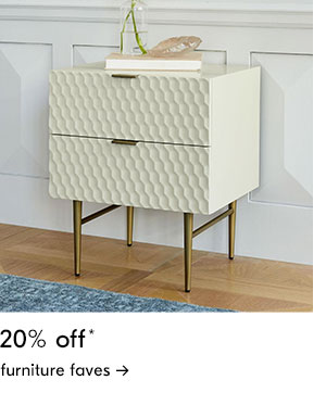 20% off furn faves