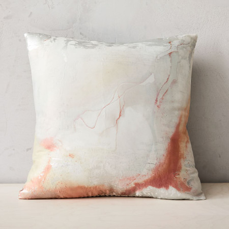 Airy Brocade Cushion Cover
