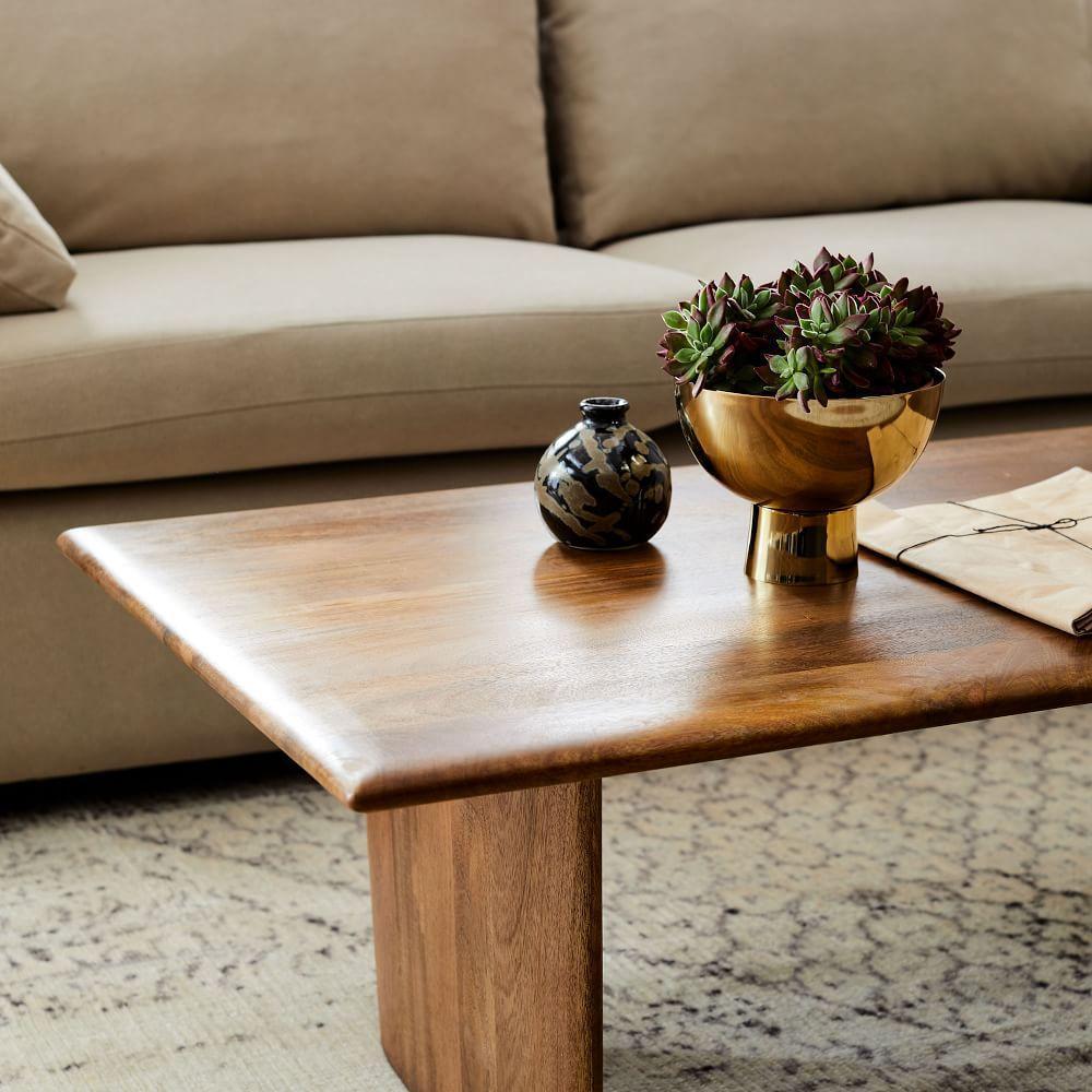 Anton Solid Wood Coffee Table - Rectangle  west elm Australia