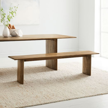 Anton Solid Wood Dining Bench