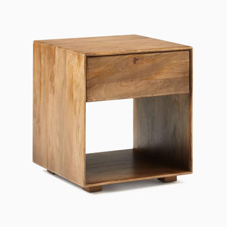Anton Solid Wood Side Table