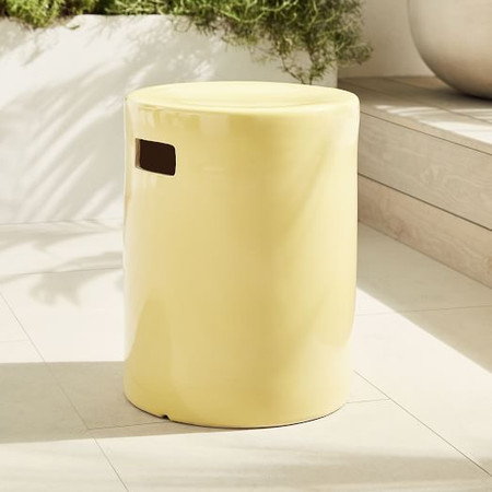 Ceramic Side Table - Round