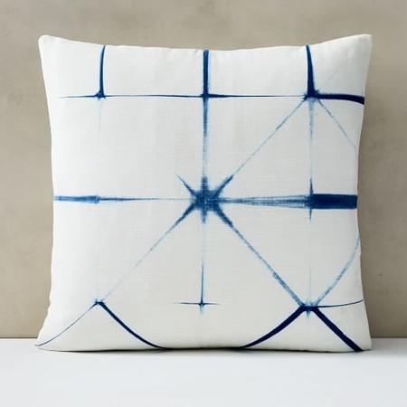 Clamped Tie-Dye Cushion Cover