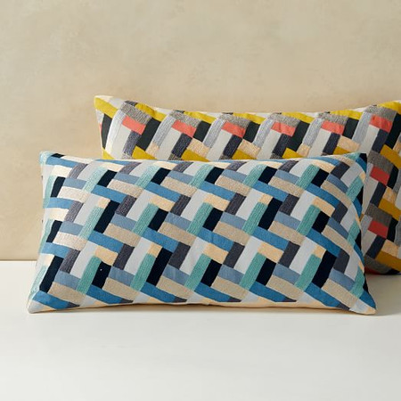 Cody Hoyt Garden Bricks Cushion Covers