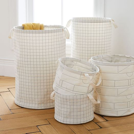 Collapsible Stitched Baskets