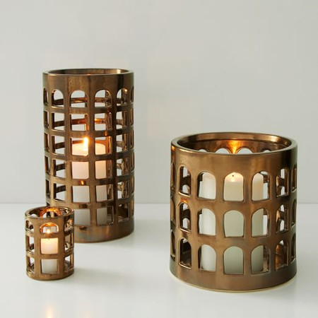 Colosseo Lanterns - Bronze