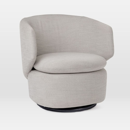 Crescent Swivel Chair
