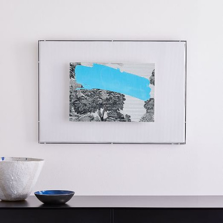 Etched Postcard Wall Art - Landscape