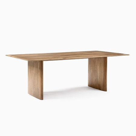 Extra Deep Anton Solid Wood Dining Table