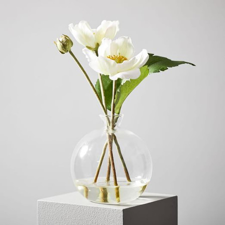 Faux Botanicals - Potted Anemone